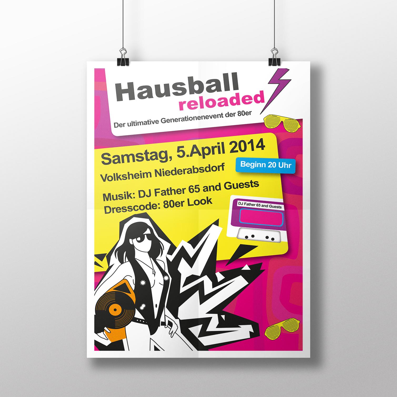 Hausball_poster