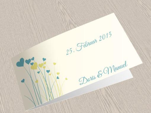 Hochzeitskarte 10