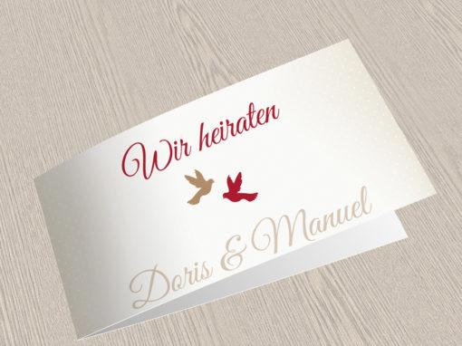 Hochzeitskarte 8