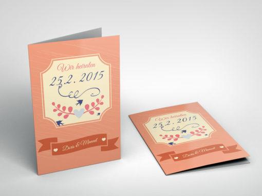 Hochzeitskarte 17